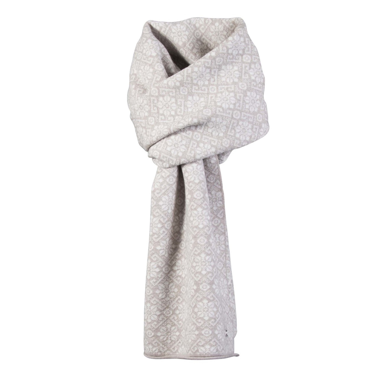 Dale of Norway, Sonja scarf in Sand Me/Off White Mel, 10961-P