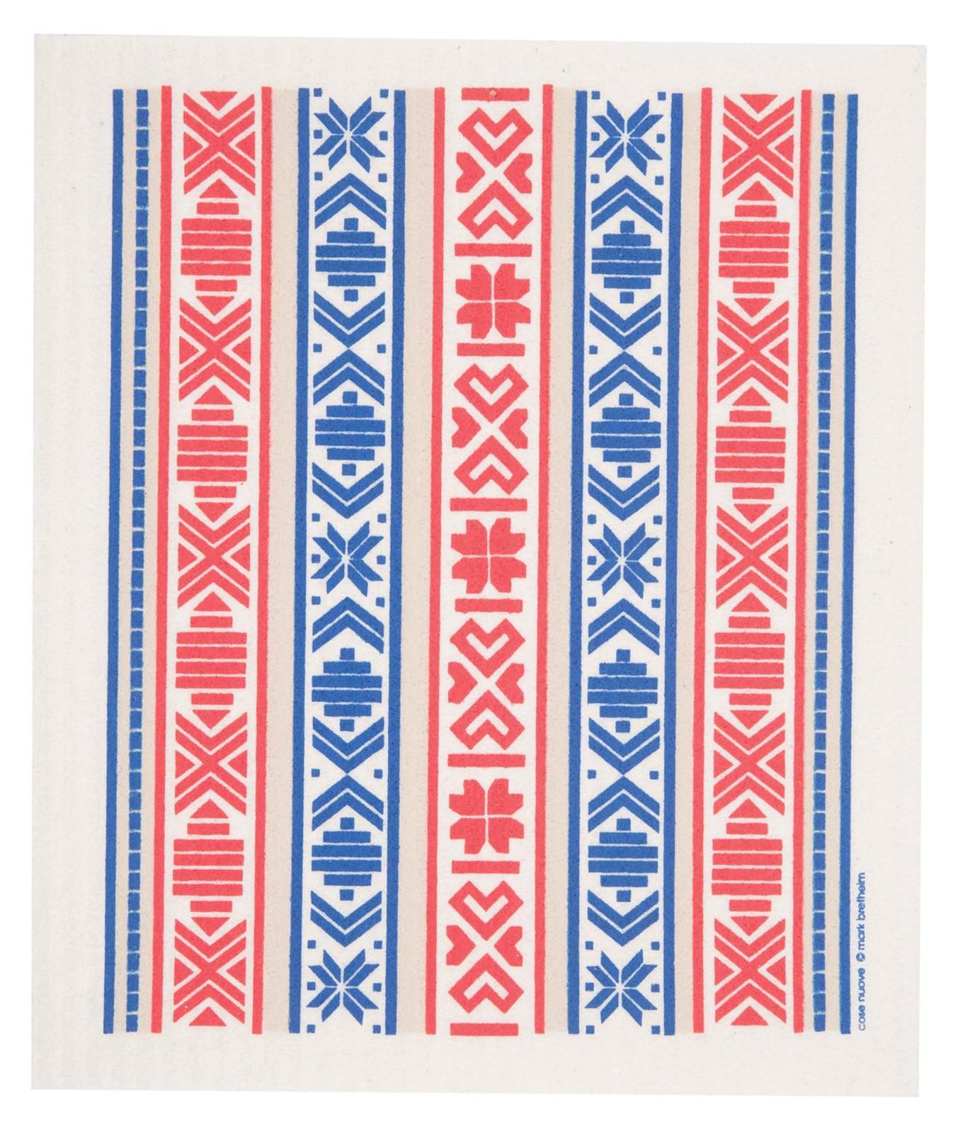 Swedish dish cloth, Swedish ribbon design