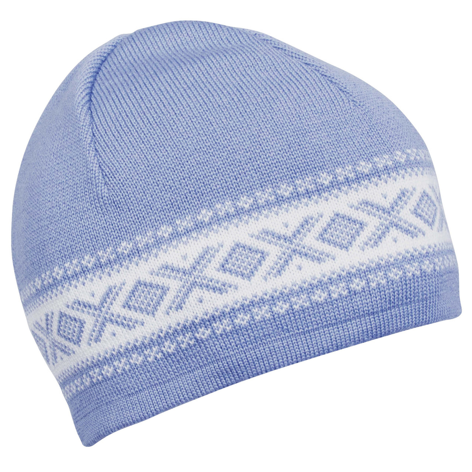 Dale of Norway, Cortina Merino Hat in Blue Shadow/Off White, 48211-D