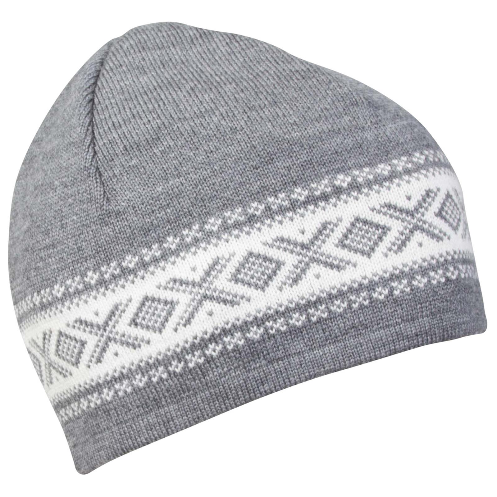 Dale of Norway, Cortina Merino Hat in Smoke/Off White, 48211-E