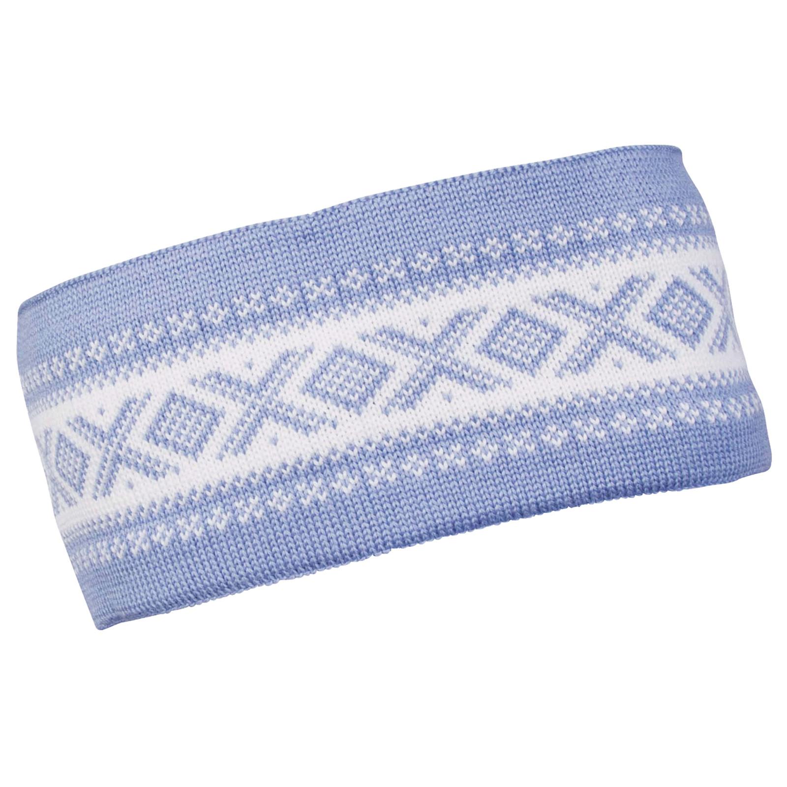 Dale of Norway Cortina Merino headband, Blue Shadow/Off-White, 26021-D