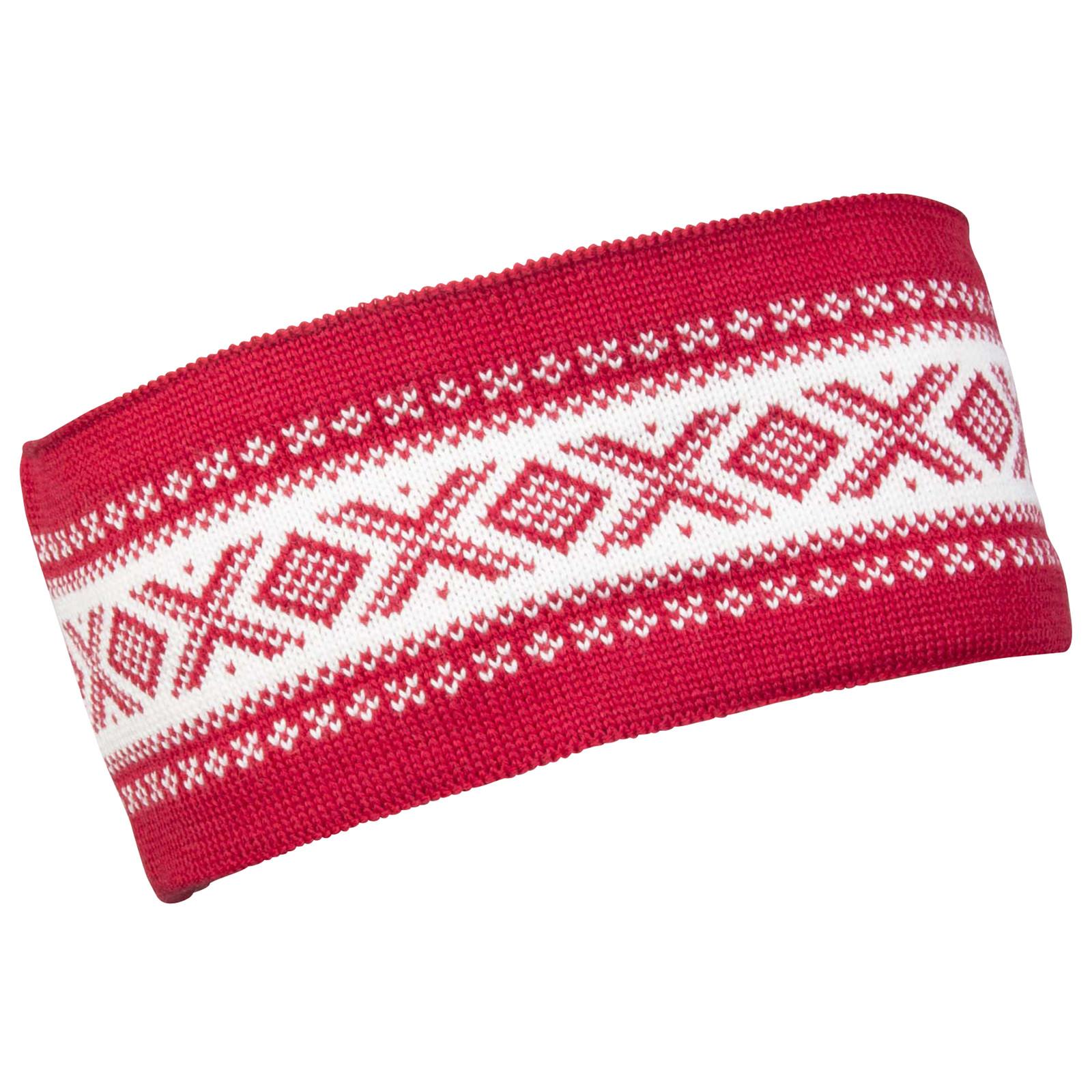 Dale of Norway Cortina Merino headband, Raspberry/Off-White, 26021-B