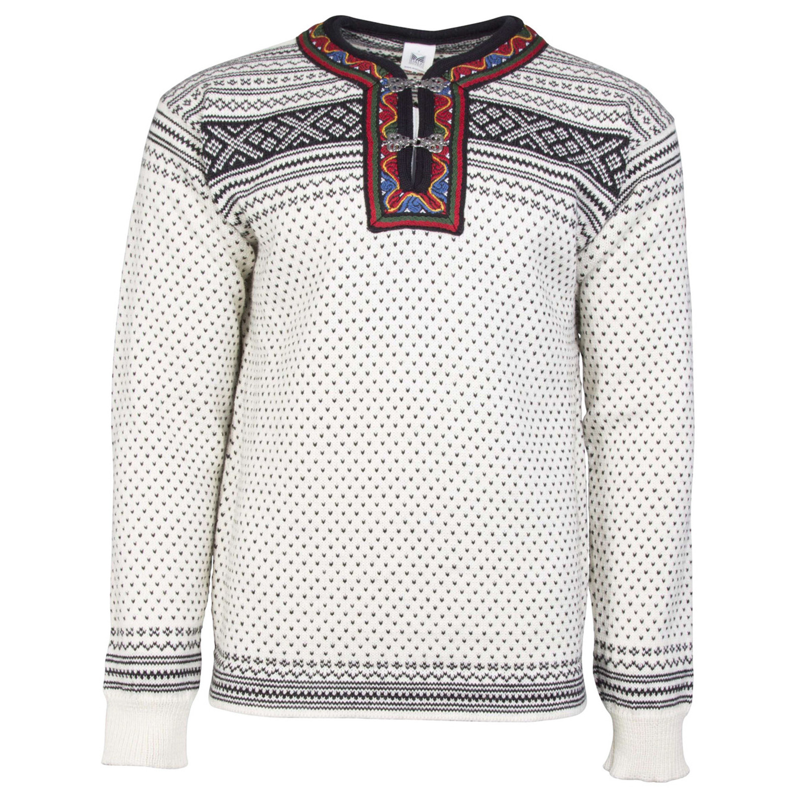 Dale of Norway New Setesdal Pullover - Off White/Black, 93781-A