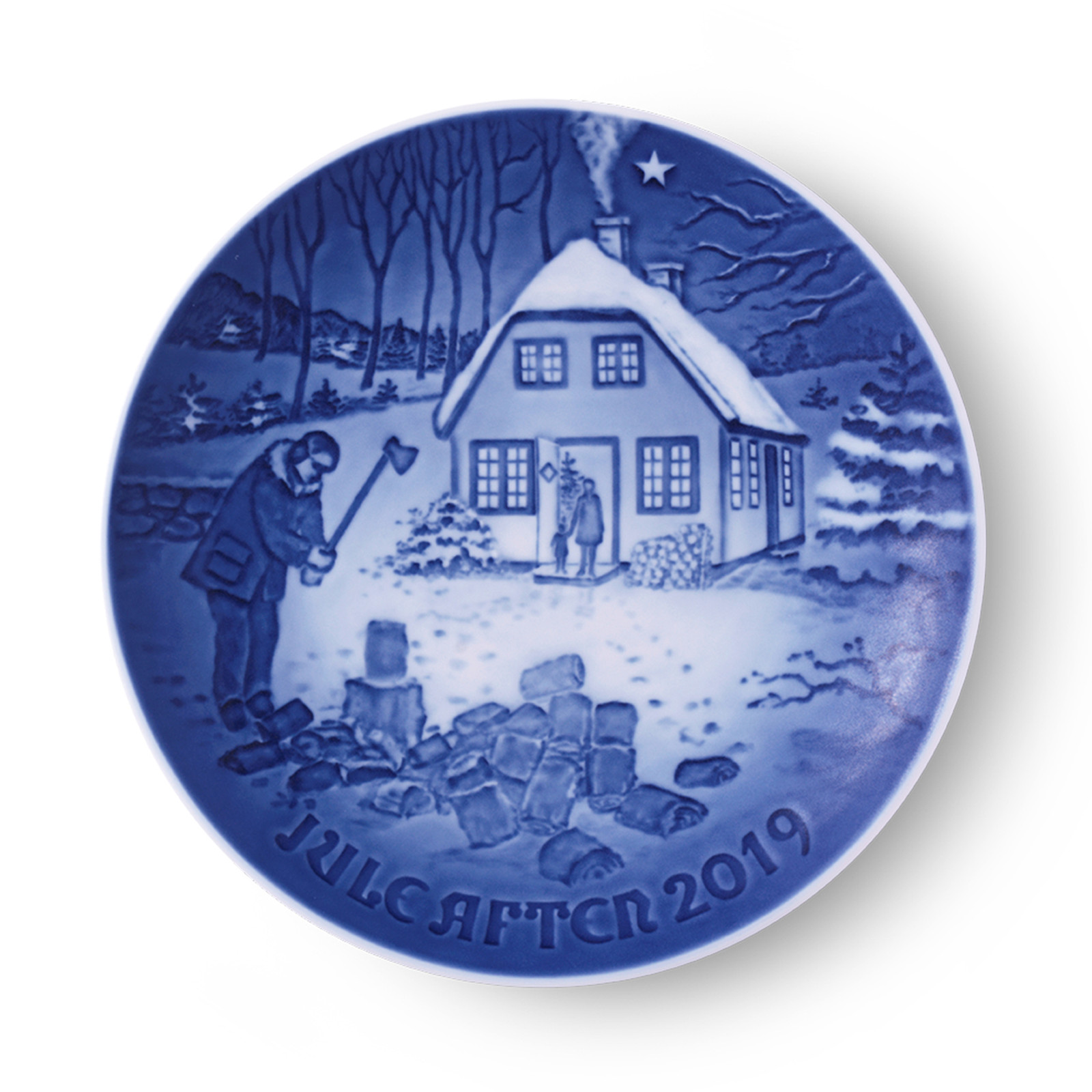2019 Bing and Grondahl Annual Christmas Plate. Available at the Nordic Shop.
