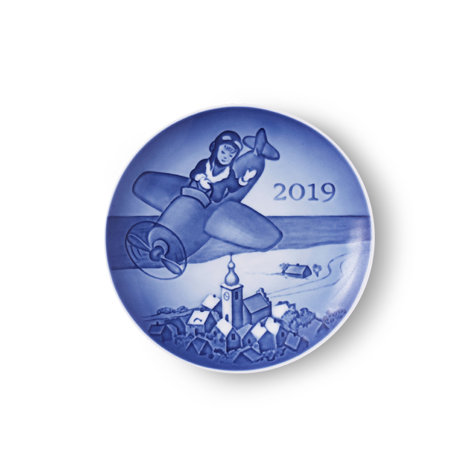 2019 Bing and Grondahl Children's Day Plate, available at The Nordic Shop.