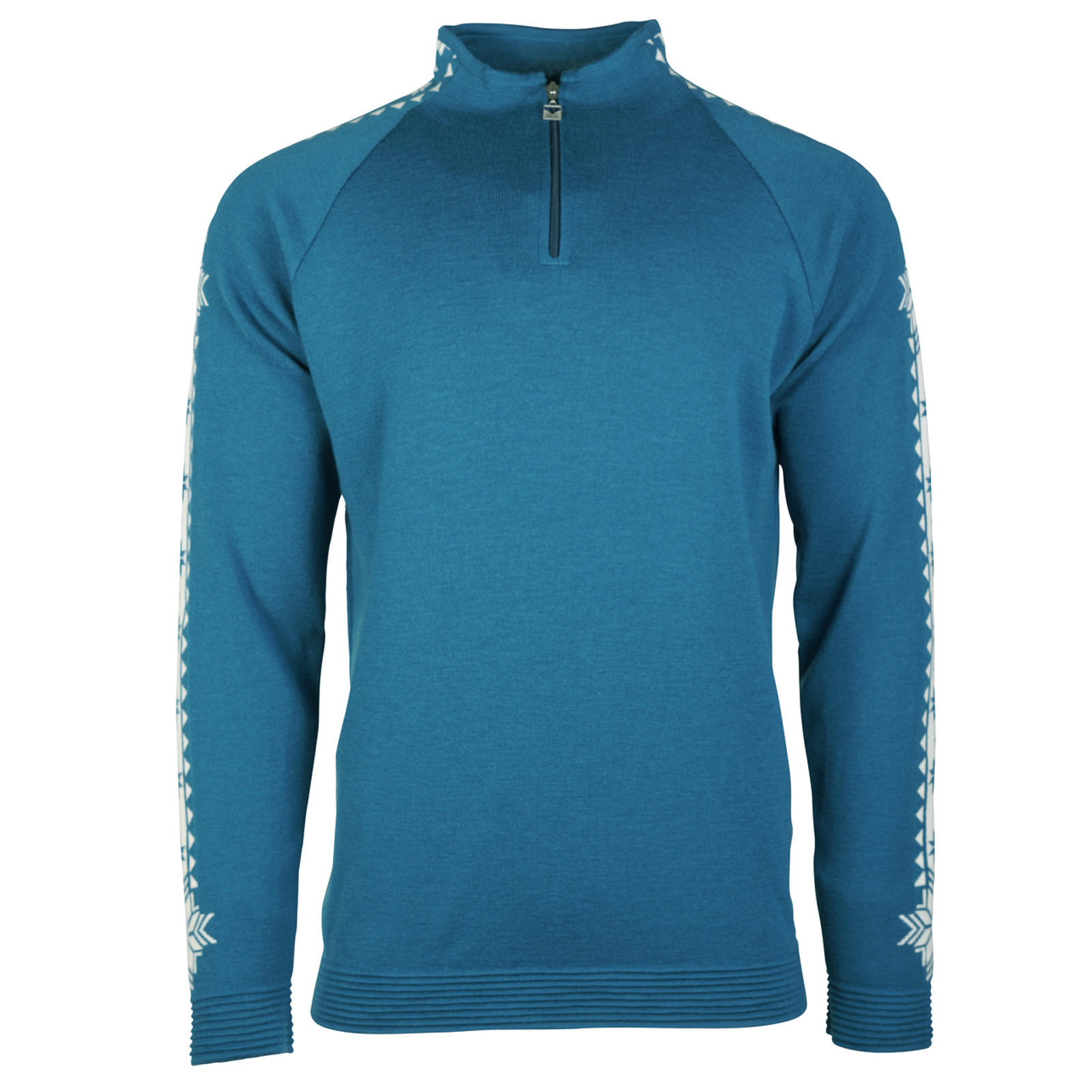 Dale of Norway Geilo Pullover, Mens, in Arctic Blue/Off White, 82321-G