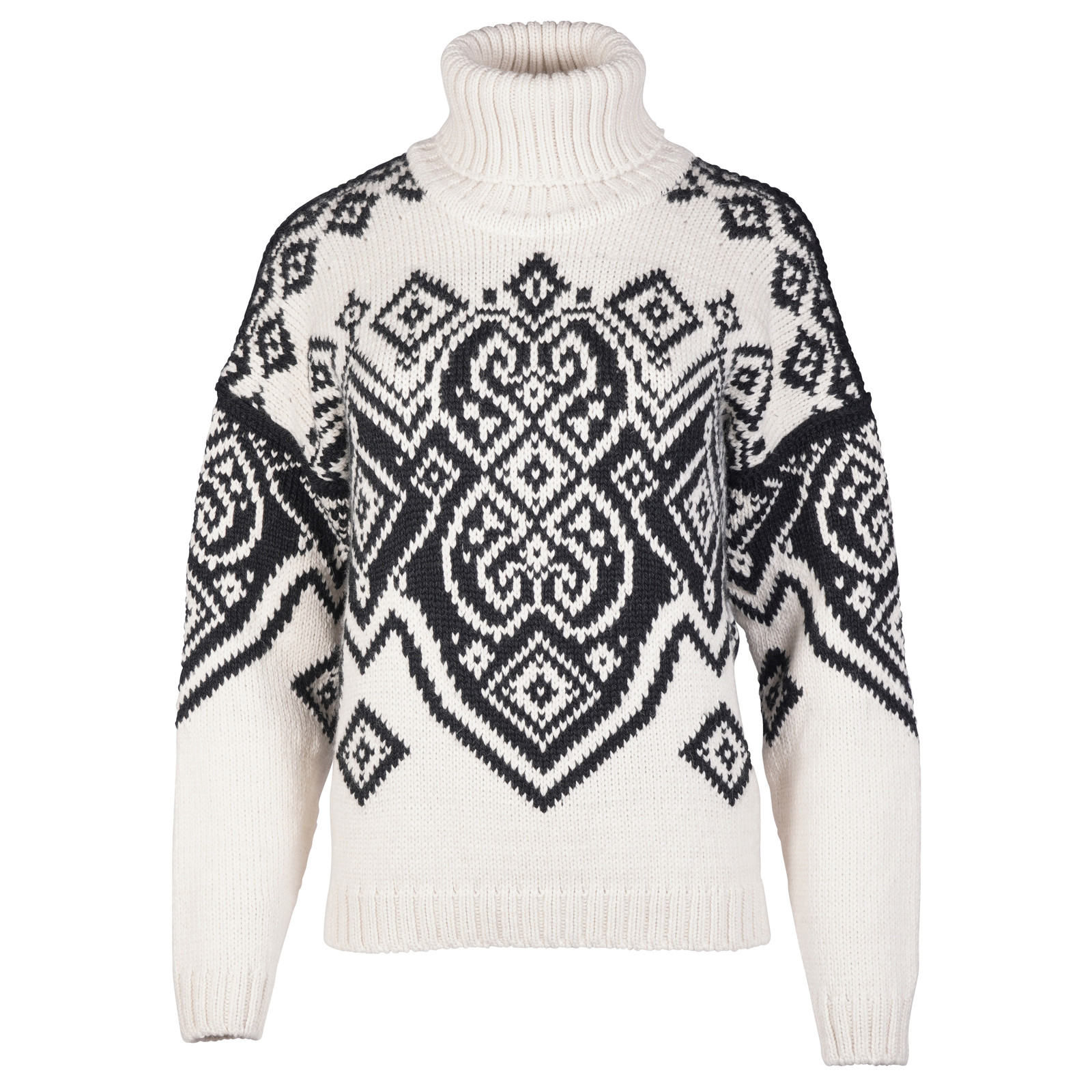 Dale of Norway Falun Sweater, Ladies - Off White/Black, 94041-A