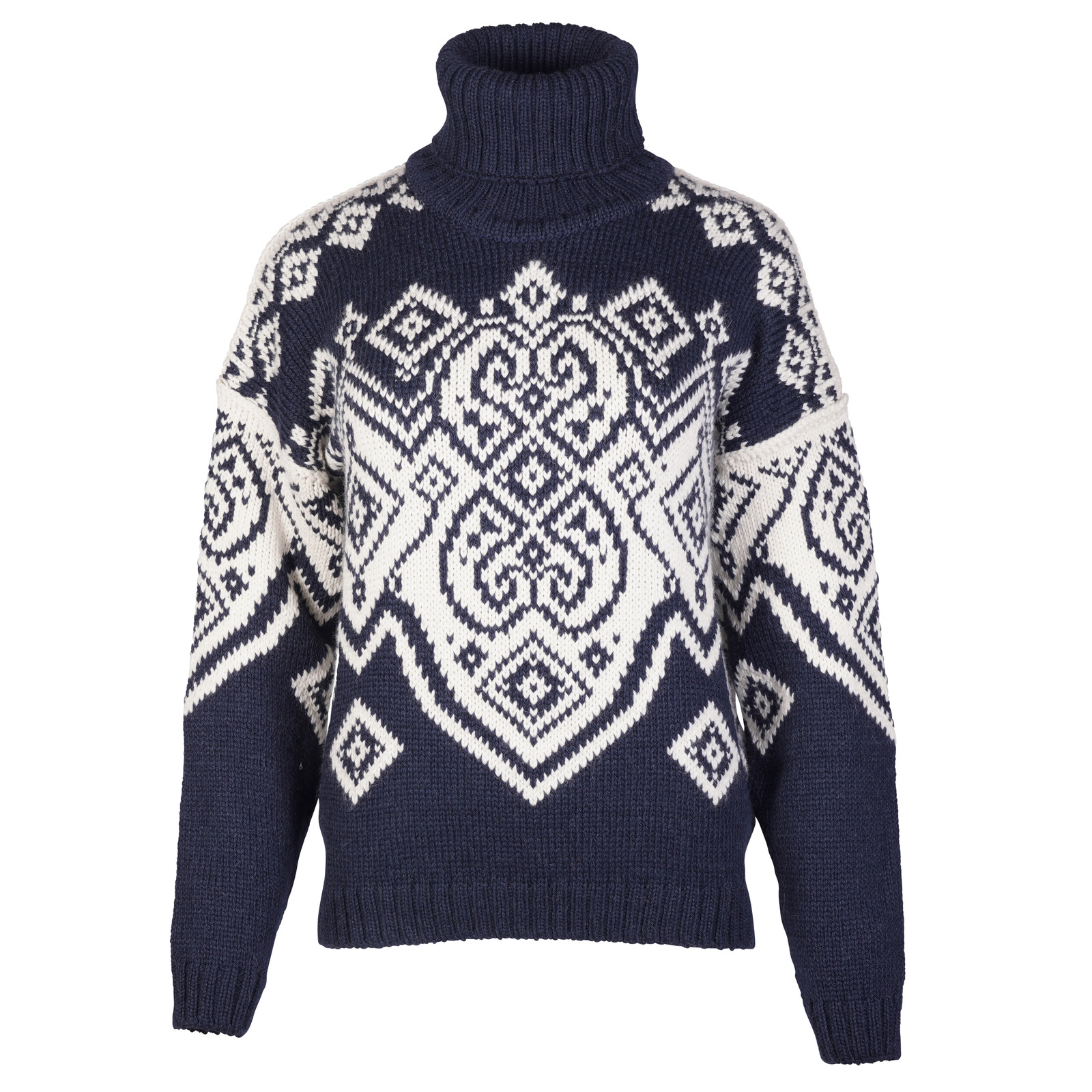 Dale of Norway Falun Sweater, Ladies - Navy/Off White, 94041-C