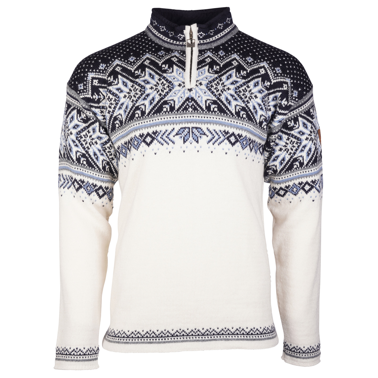Dale of Norway Vail Pullover - Off White/Smoke/Midnight Navy/Navy/Blue Shadow, 90331-A