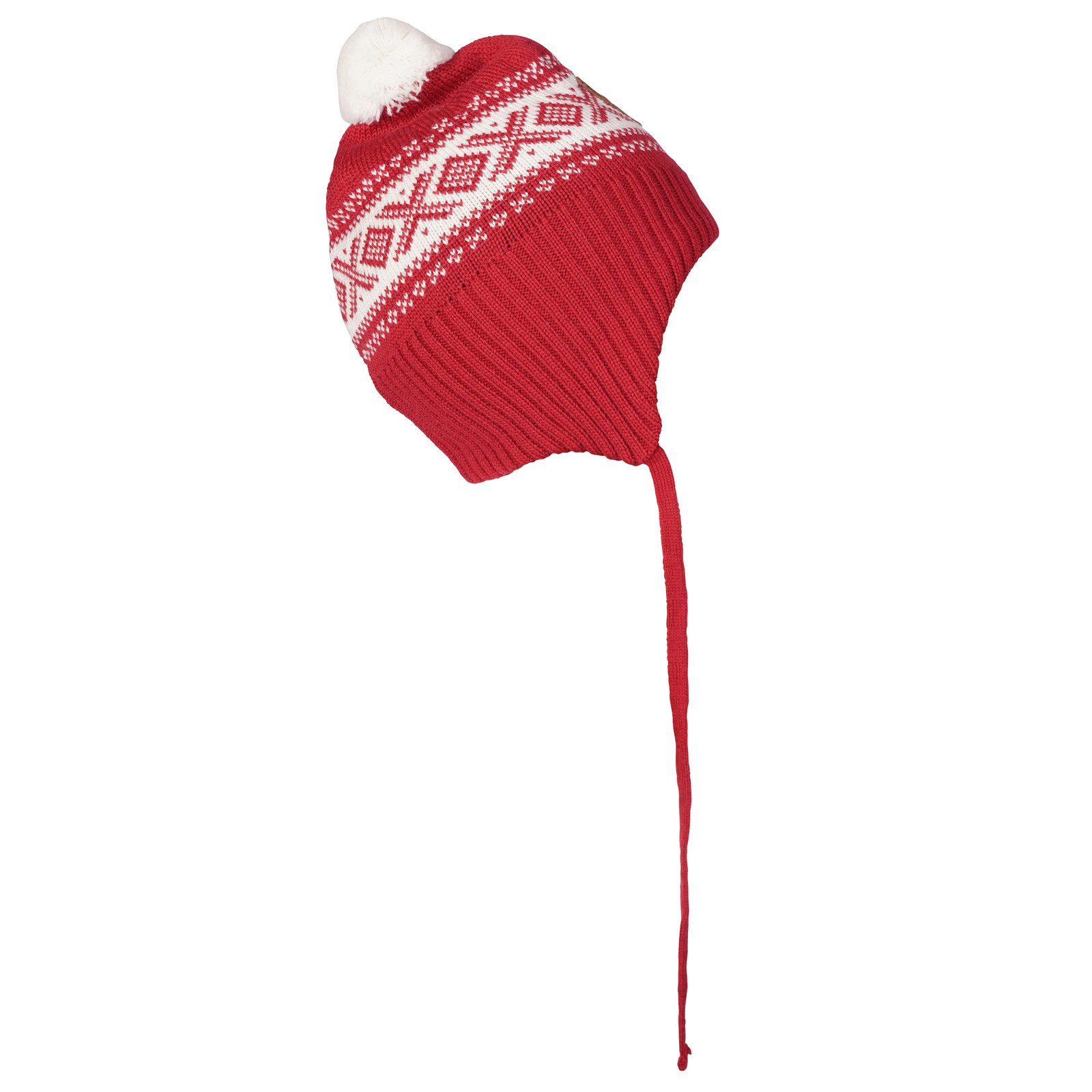 Dale of Norway Cortina Kids Hat 2-4, Raspberry/Off White, 43331-B
