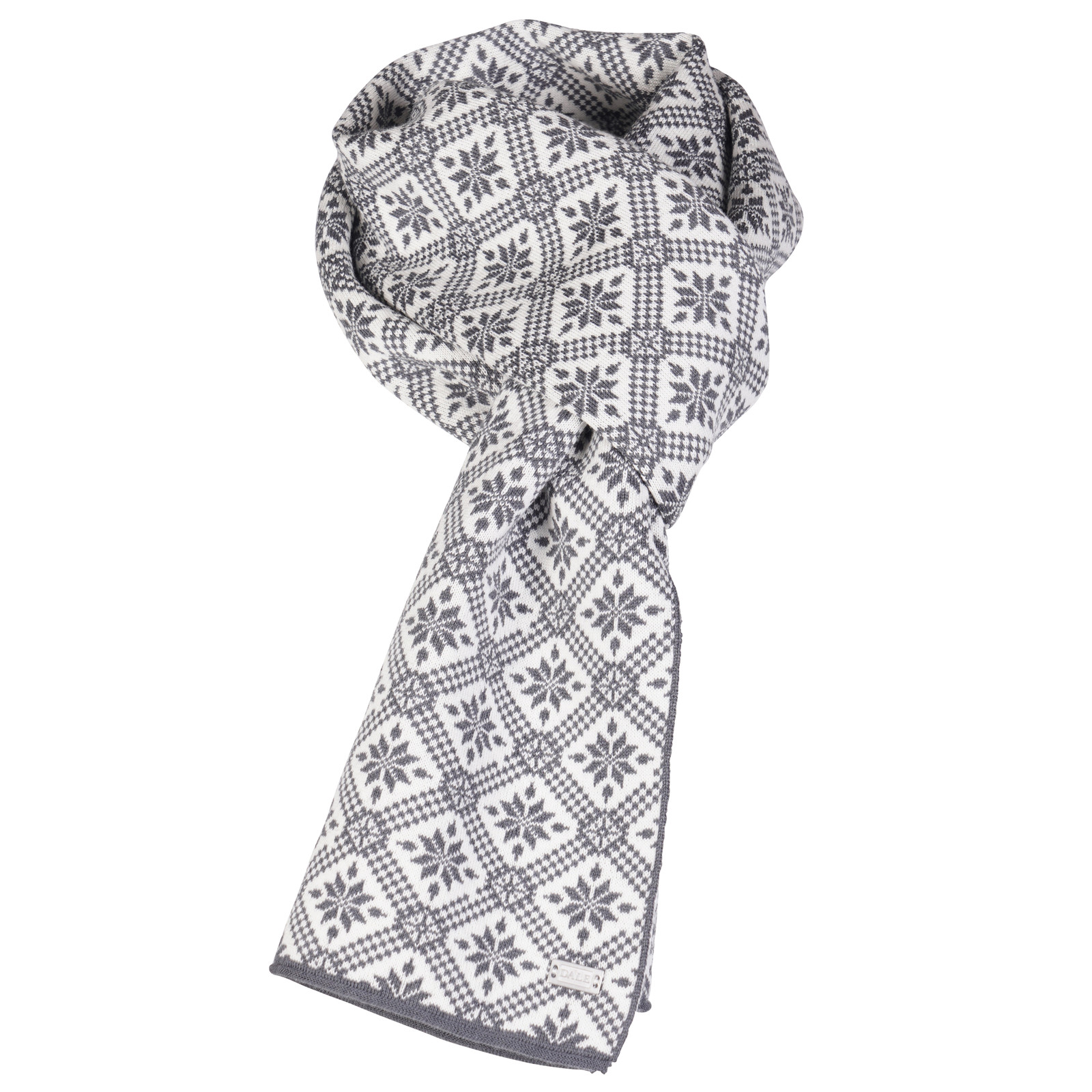 Dale of Norway Christiania Scarf - Schiefer/Off White, 11701-E