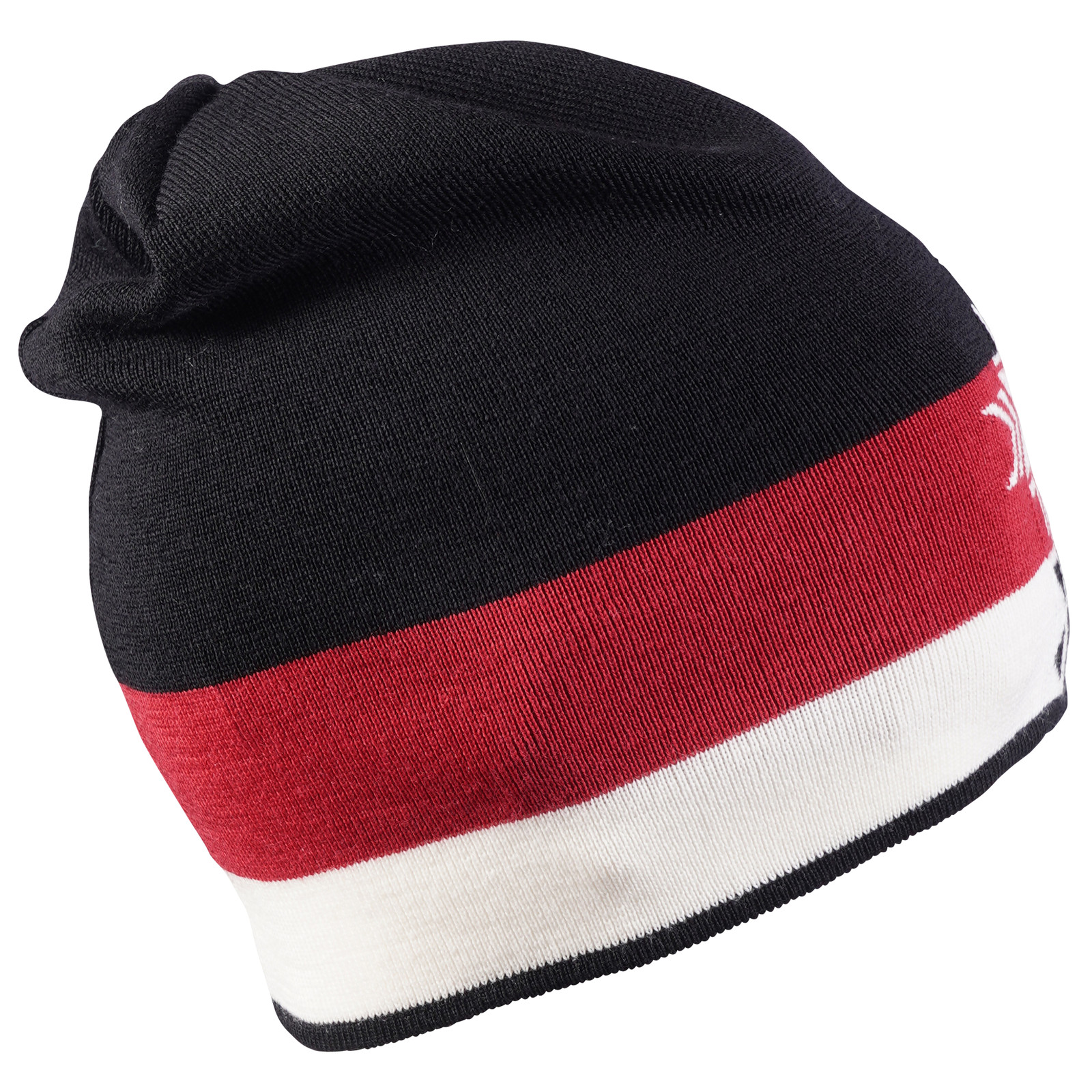 Dale of Norway Geilolia Hat - Black/Raspberry/Off White, 48261-F