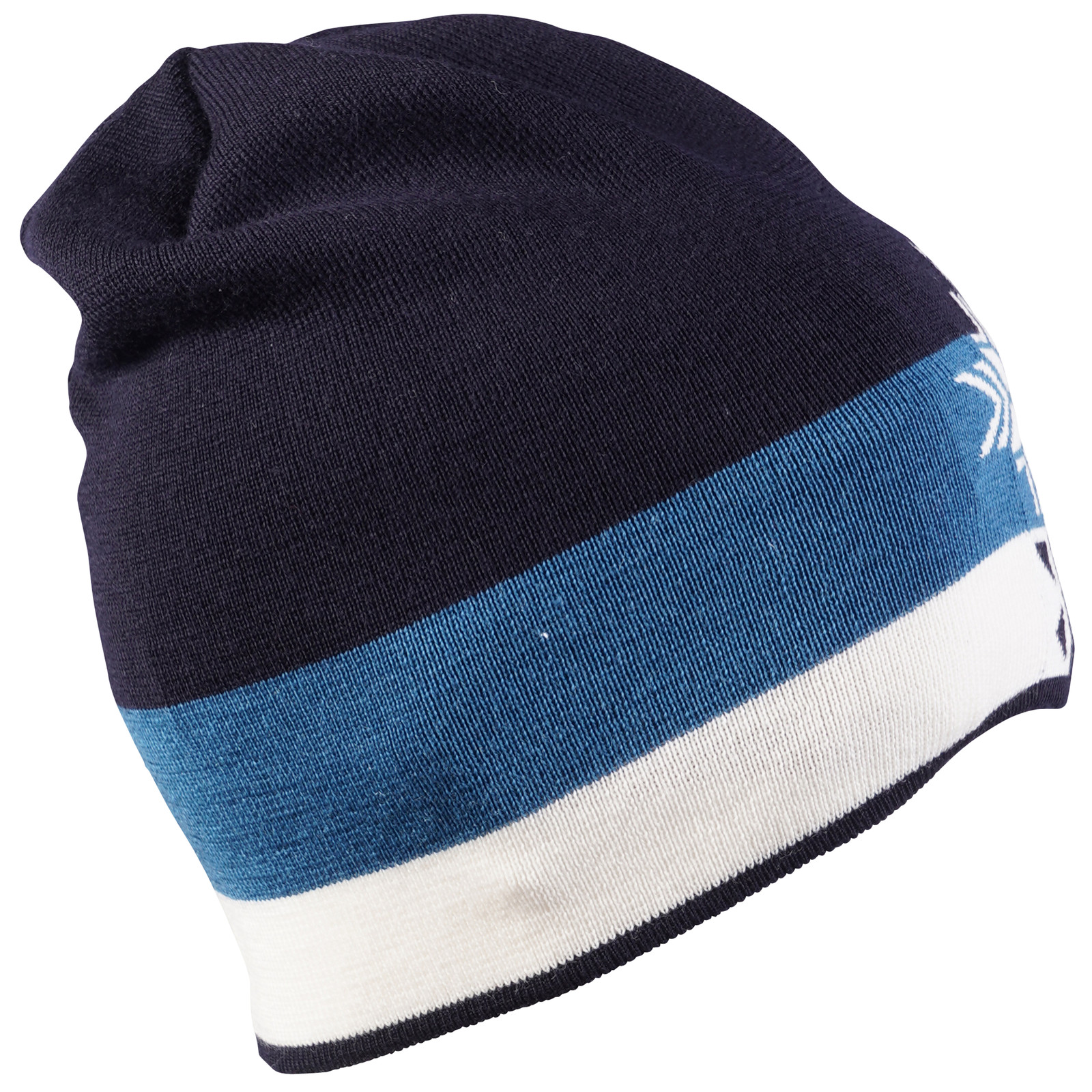 Dale of Norway Geilolia Hat - Navy/Arctic Blue/Off White, 48261-C