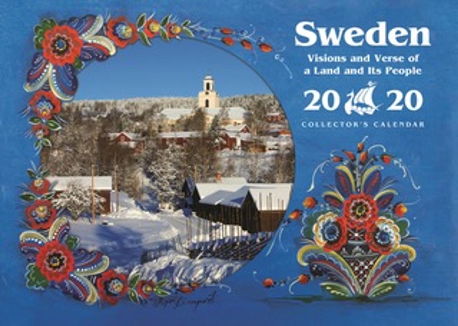 2020 Sweden Visions and Verse Calendar - Paulstad