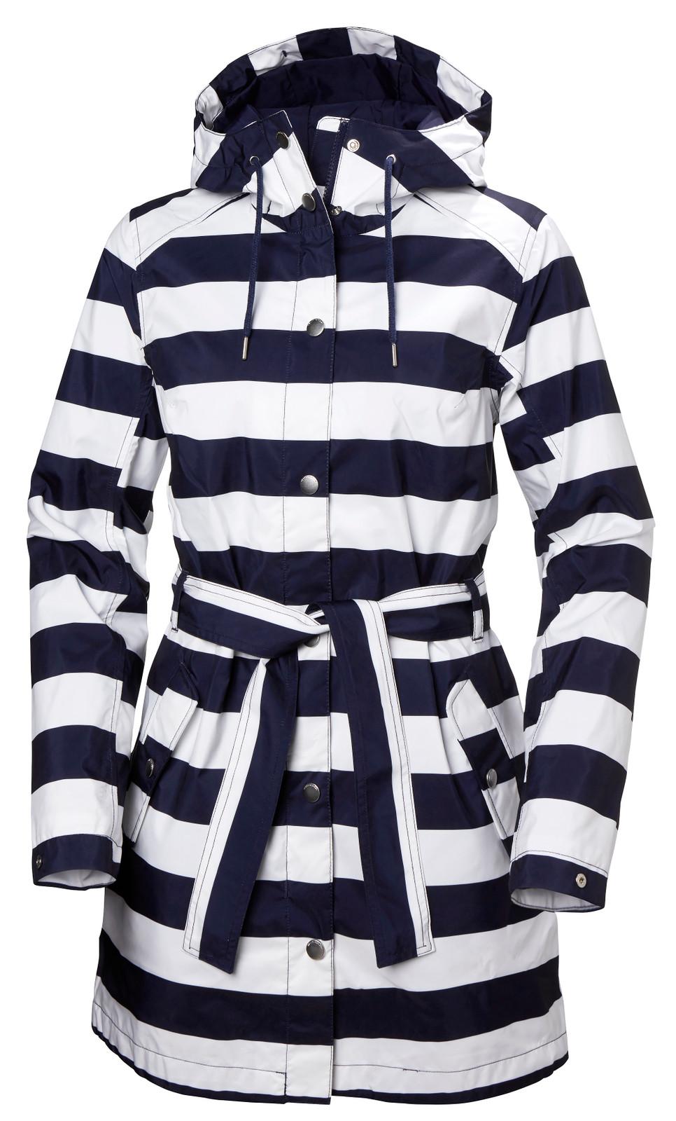 Helly Hansen Lyness II Coat, Women's - Navy Stripe, 53248-690