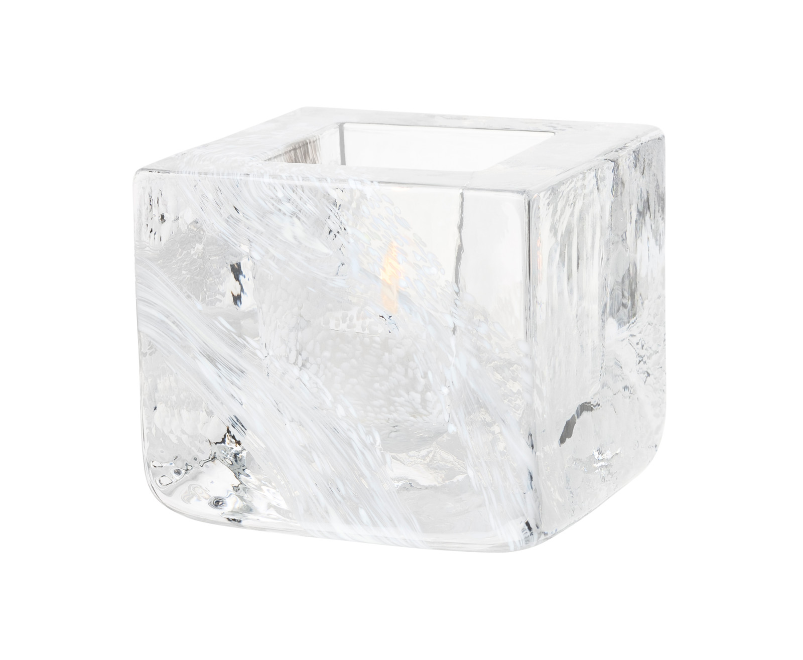 Kosta Boda Brick Votive, White (7061031)