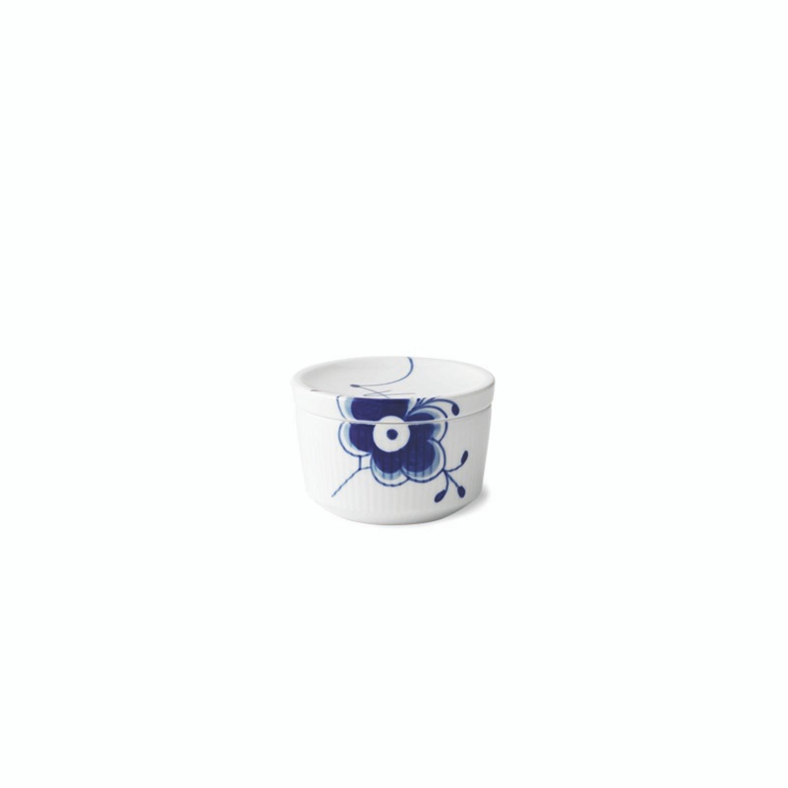 Royal Copenhagen Blue Fluted Mega - Bowl with Lid, 6.75 oz (1024772)