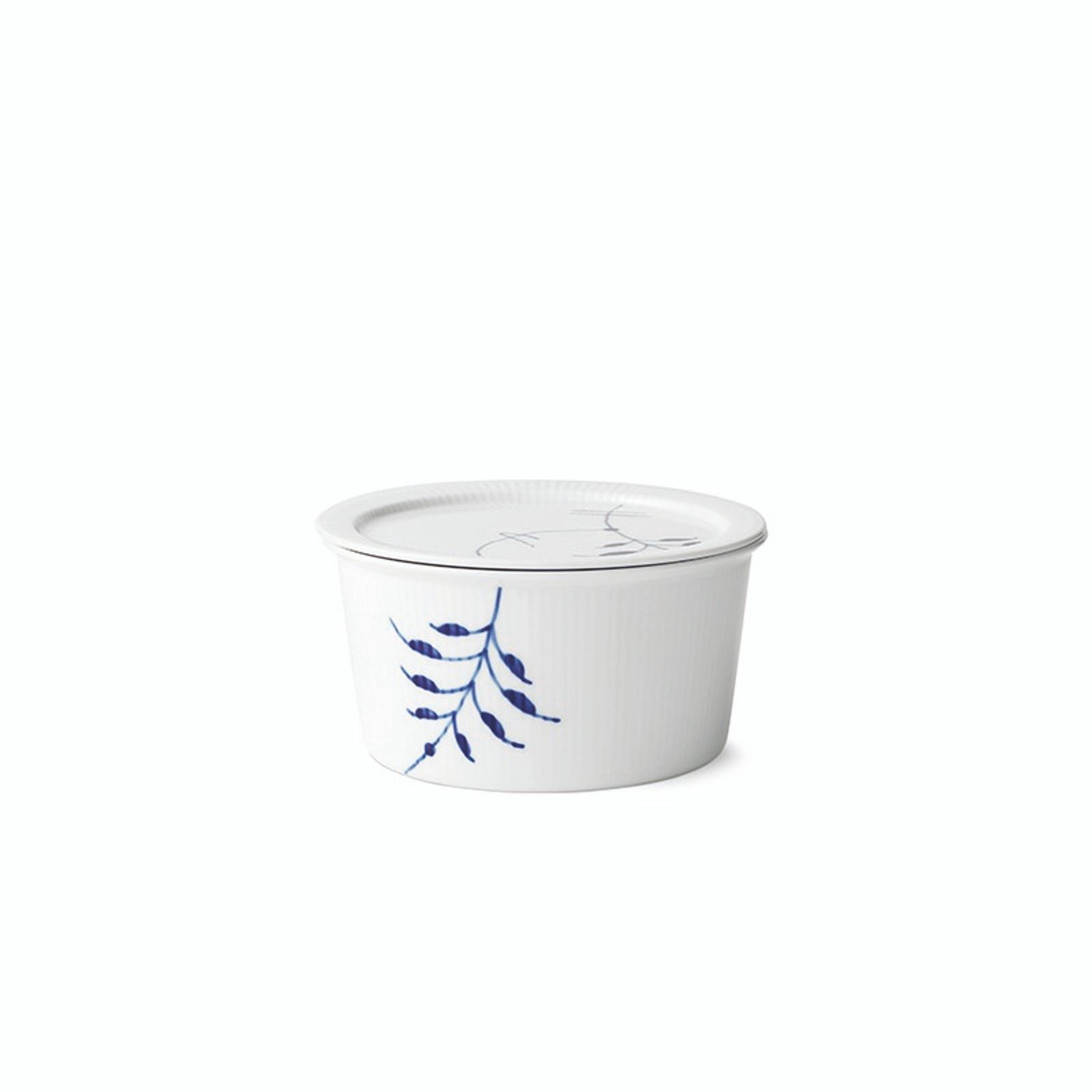 Royal Copenhagen Blue Fluted Mega - Dish with Lid, 1 Qt (1016883)