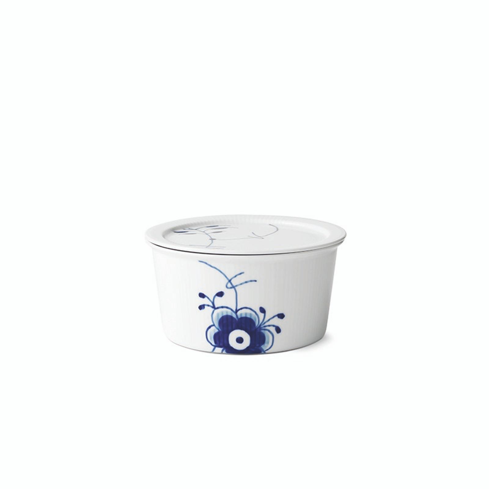 Royal Copenhagen Blue Fluted Mega - Dish with Lid, 1 Qt