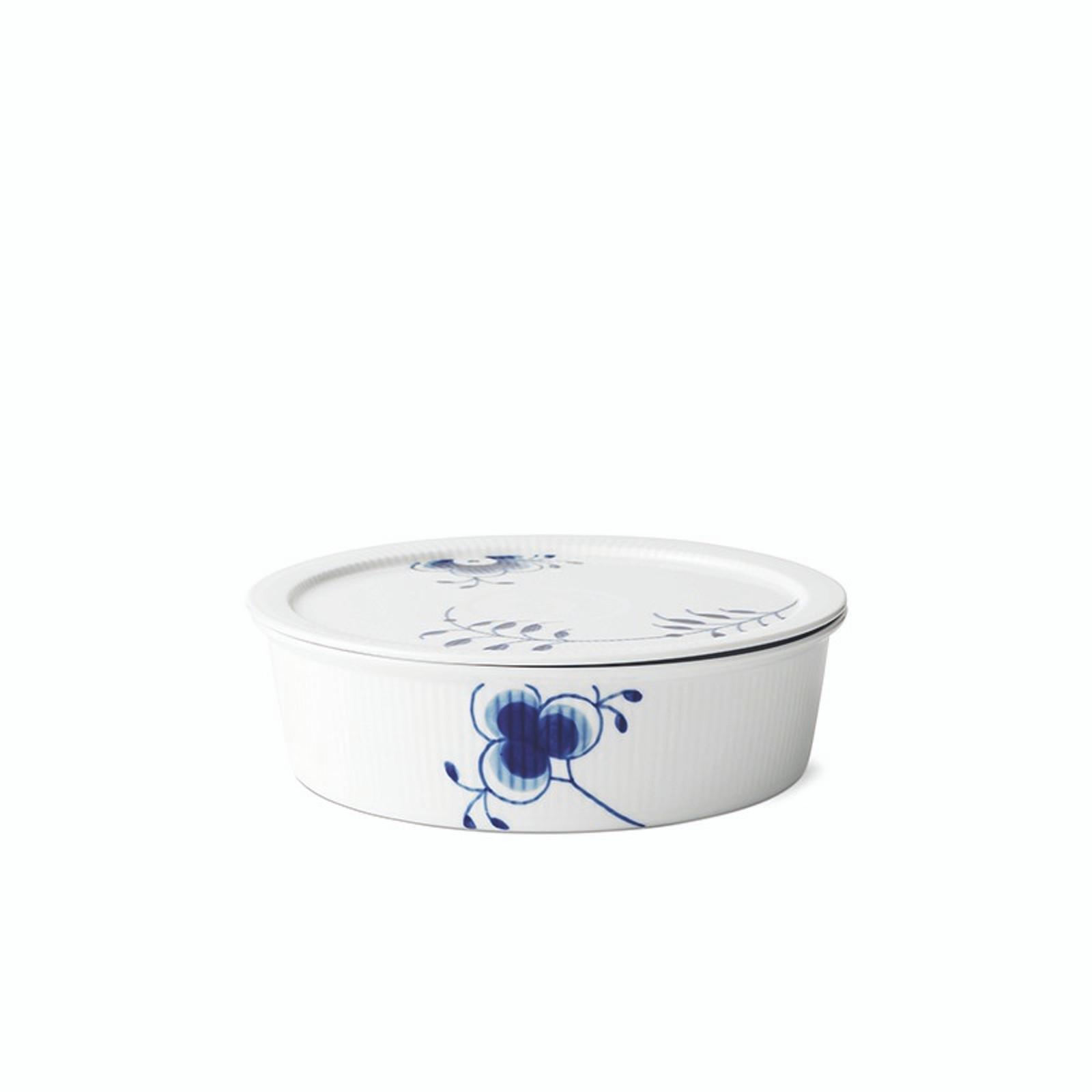 Royal Copenhagen Blue Fluted Mega - Dish with Lid, 1.5 Qt (1016884)