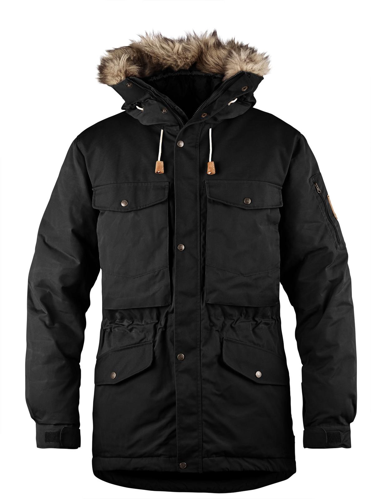 Fjällräven Singi Down Jacket, Men's, Black - F82278-550