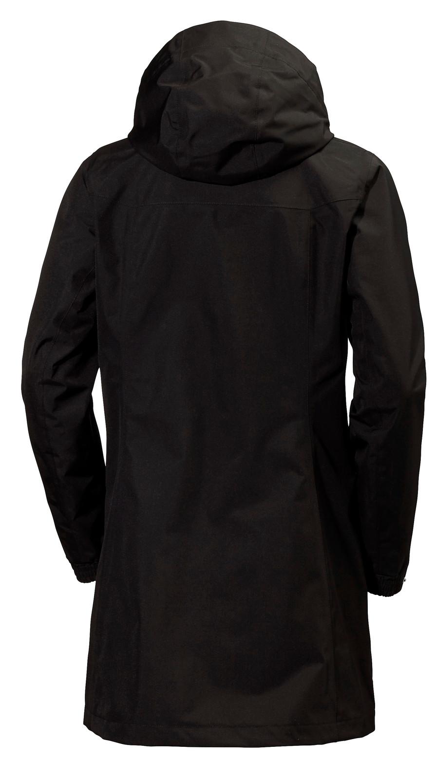 Helly Hansen Aden Long Coat, Women's - Black, 62648-990 (62648-990)