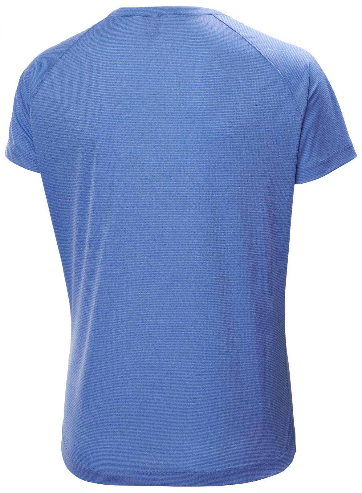 Helly Hansen Verglas Pace T-Shirt, Women's - Royal Blue, 62967-514 back