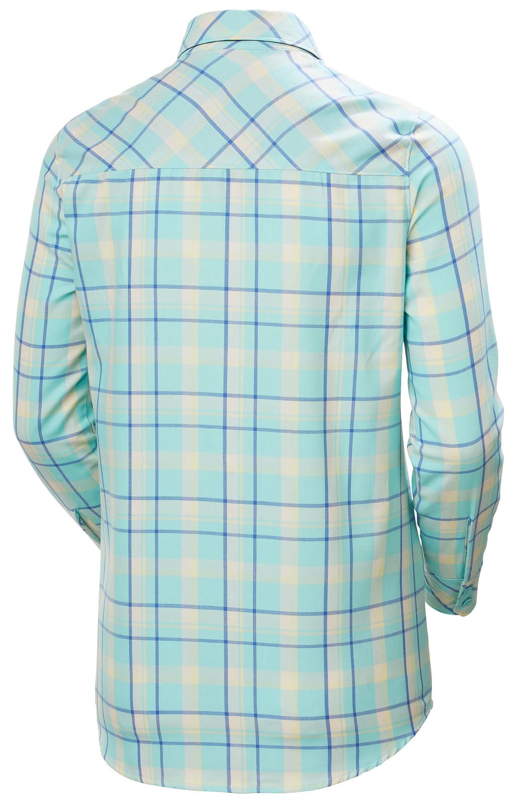 Helly Hansen Lokka LS Shirt, Women's - Glacier Blue, 62875-648 back