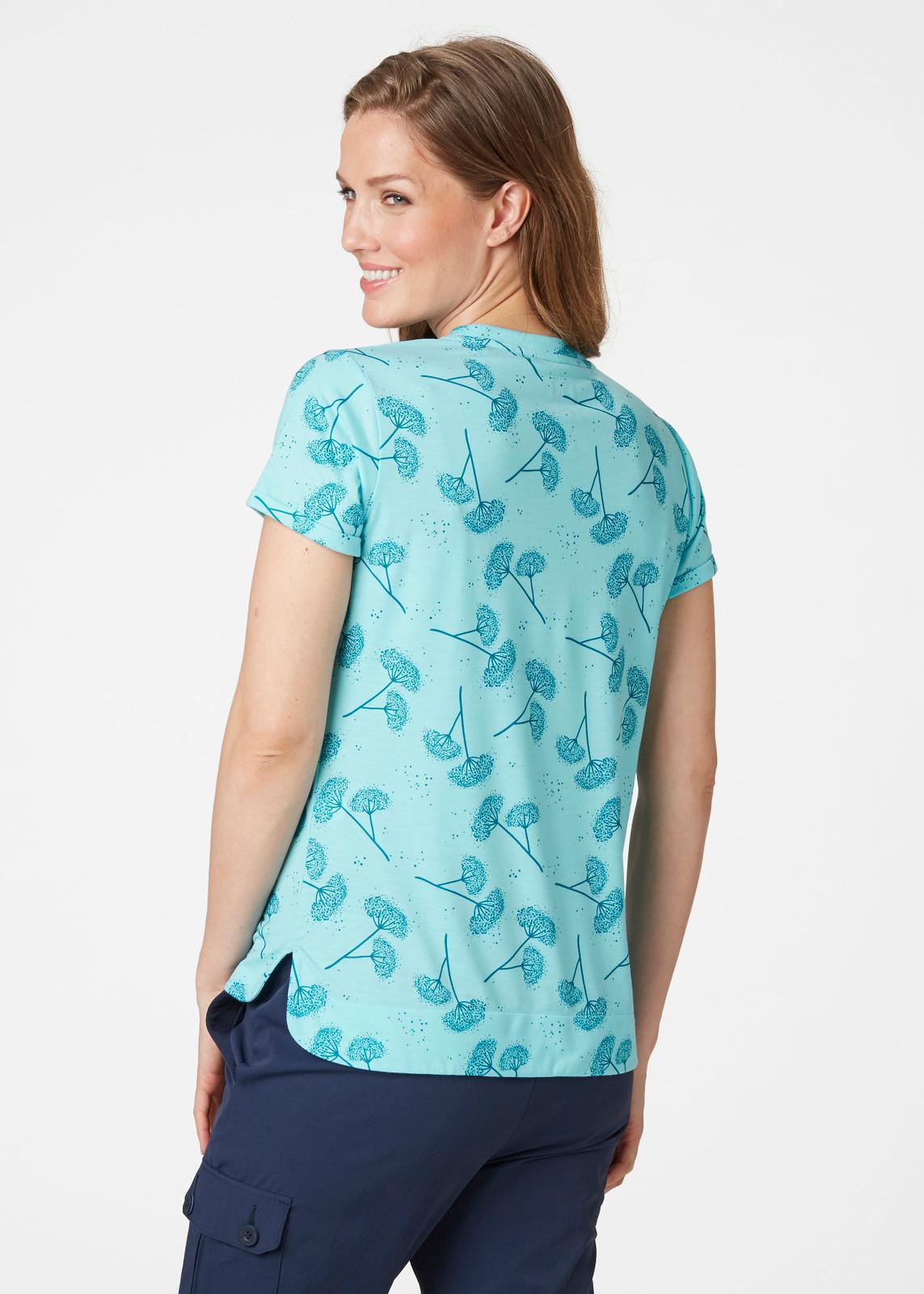 Helly Hansen Lomma T-Shirt, Women's - Glacier Blue, 62878-648