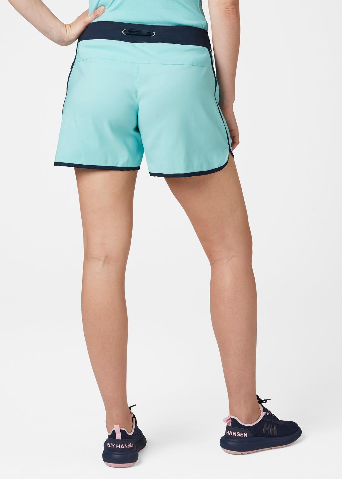 Helly Hansen Solen Classic Watershort, Women's - Glacier Blue, 62970-648 on model back