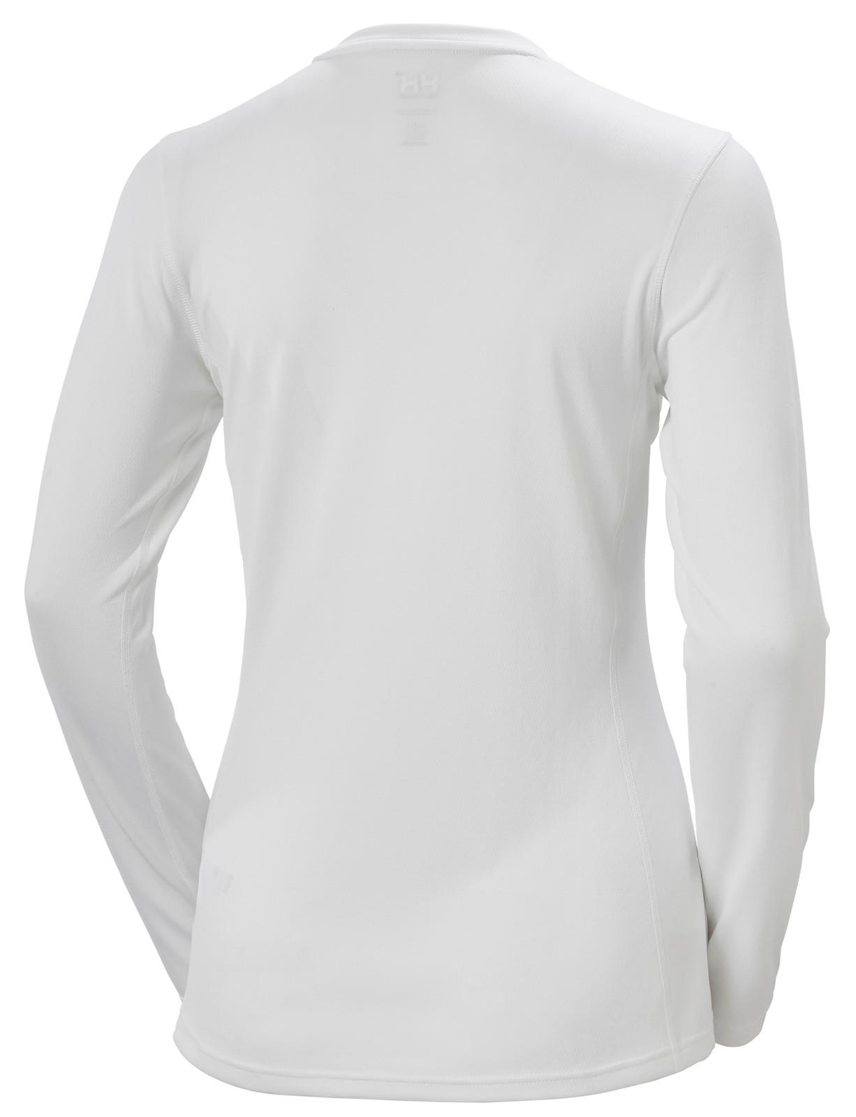 Helly Hansen Lifa Active Solen LS T-Shirt, Women's - White, 49352-001 back