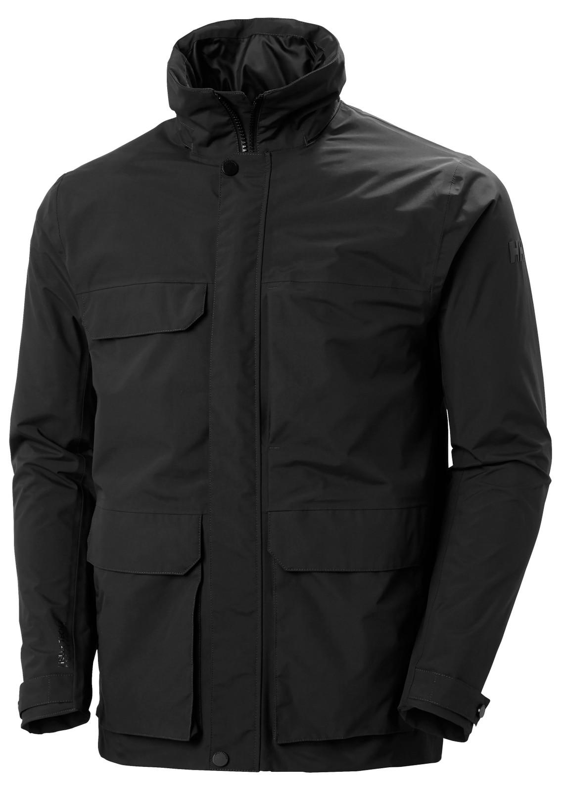 Helly Hansen Utility Rain Jacket, Men's - Black, 53415-990