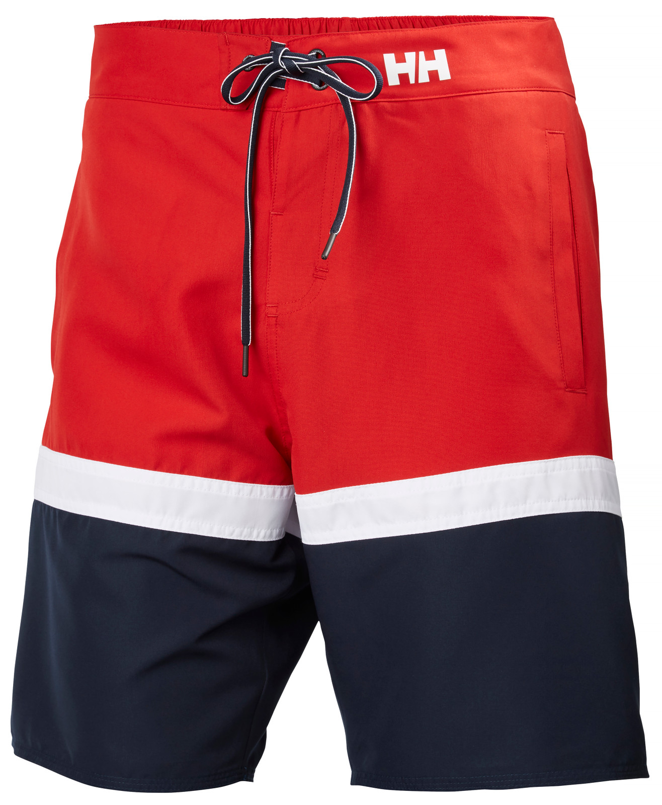 Helly Hansen Marstrand Trunk, Men's - Red/White/Navy, 33982-162