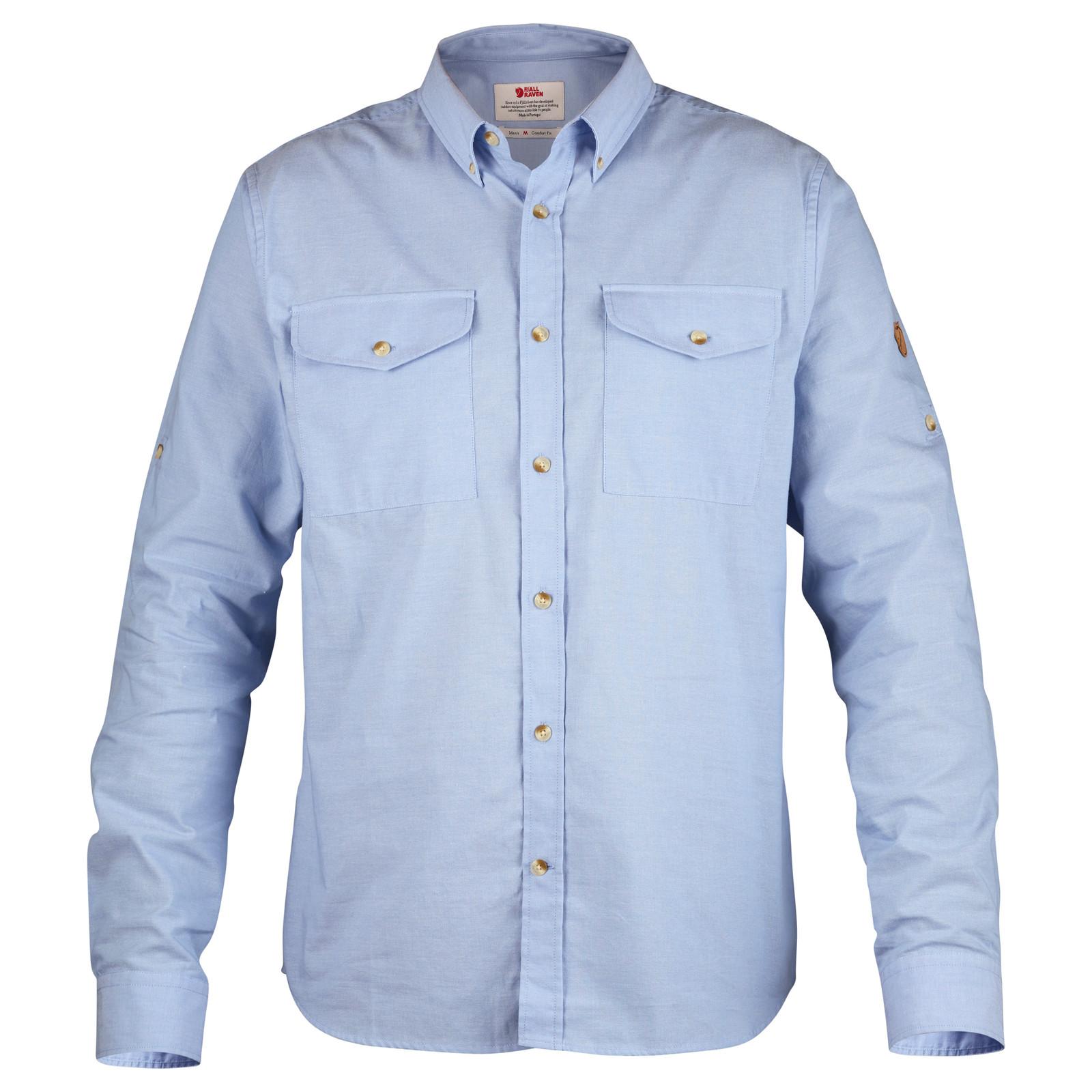 Fjällräven Övik Chambray Shirt, Men's, Blue Ridge- F81545-519