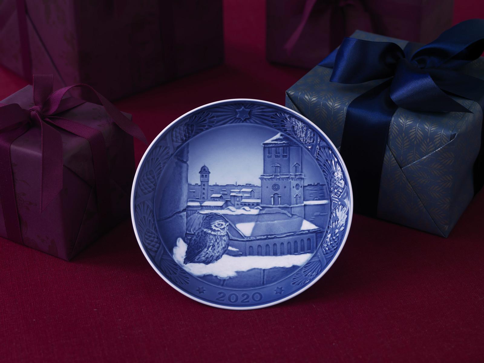 Royal Copenhagen 2020 Christmas Plate ( 1051095)