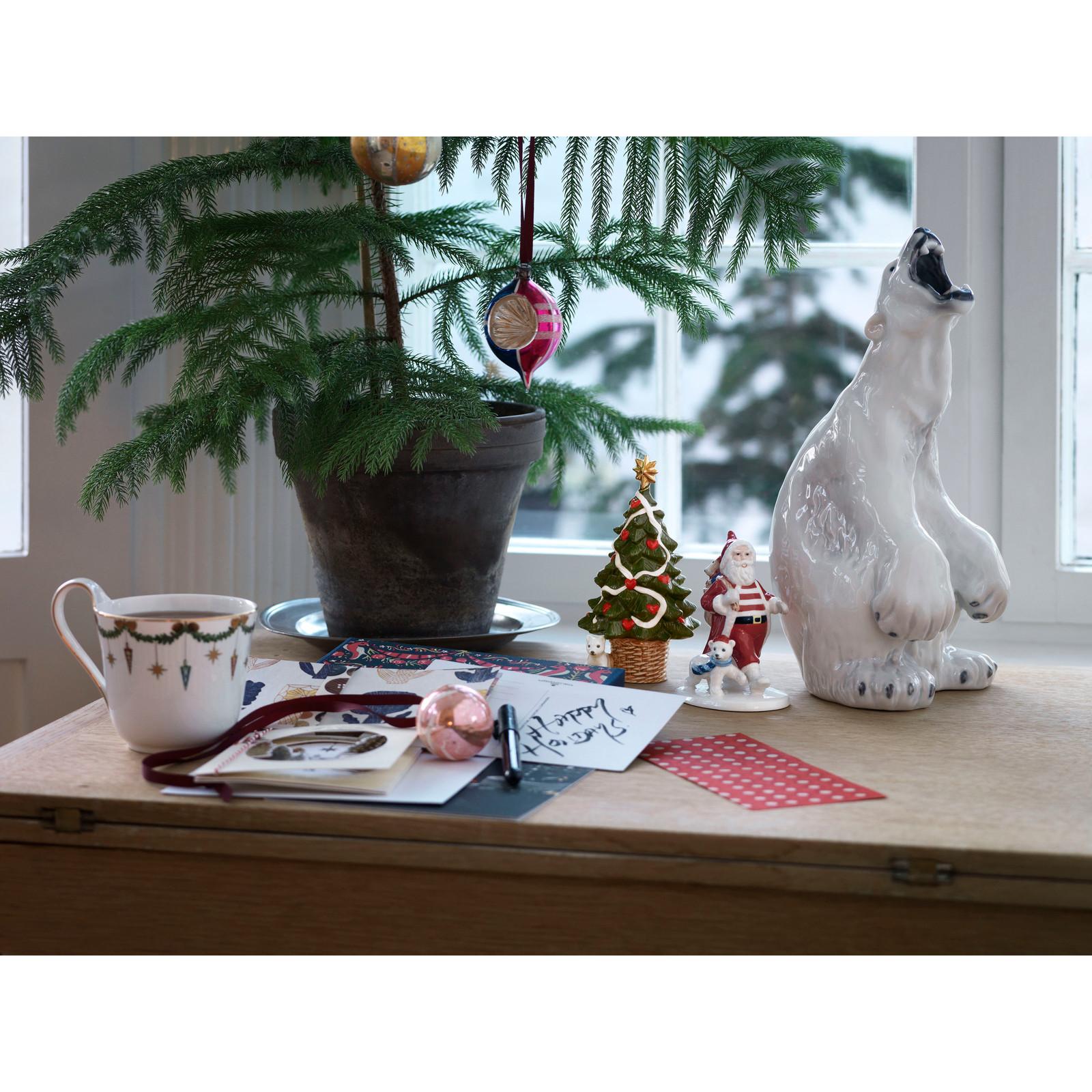 Royal Copenhagen 2020 Annual Christmas Tree Figurine & Santa