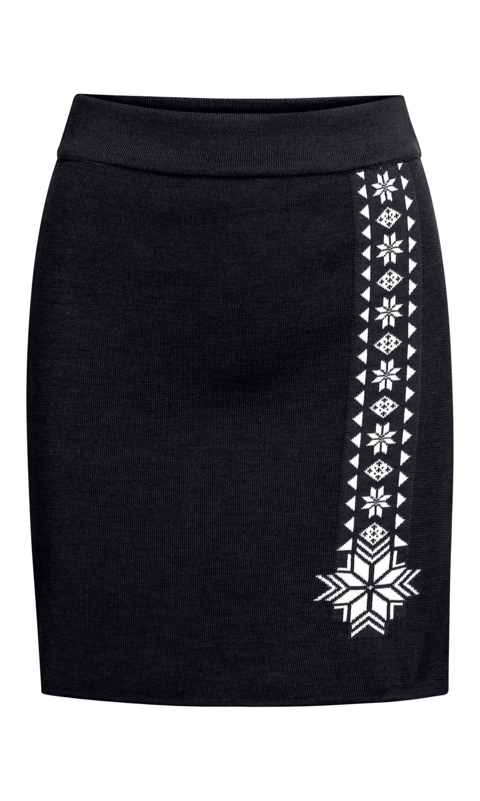 Dale of Norway Geilo Skirt, Ladies - Navy/Off White, 62041-C