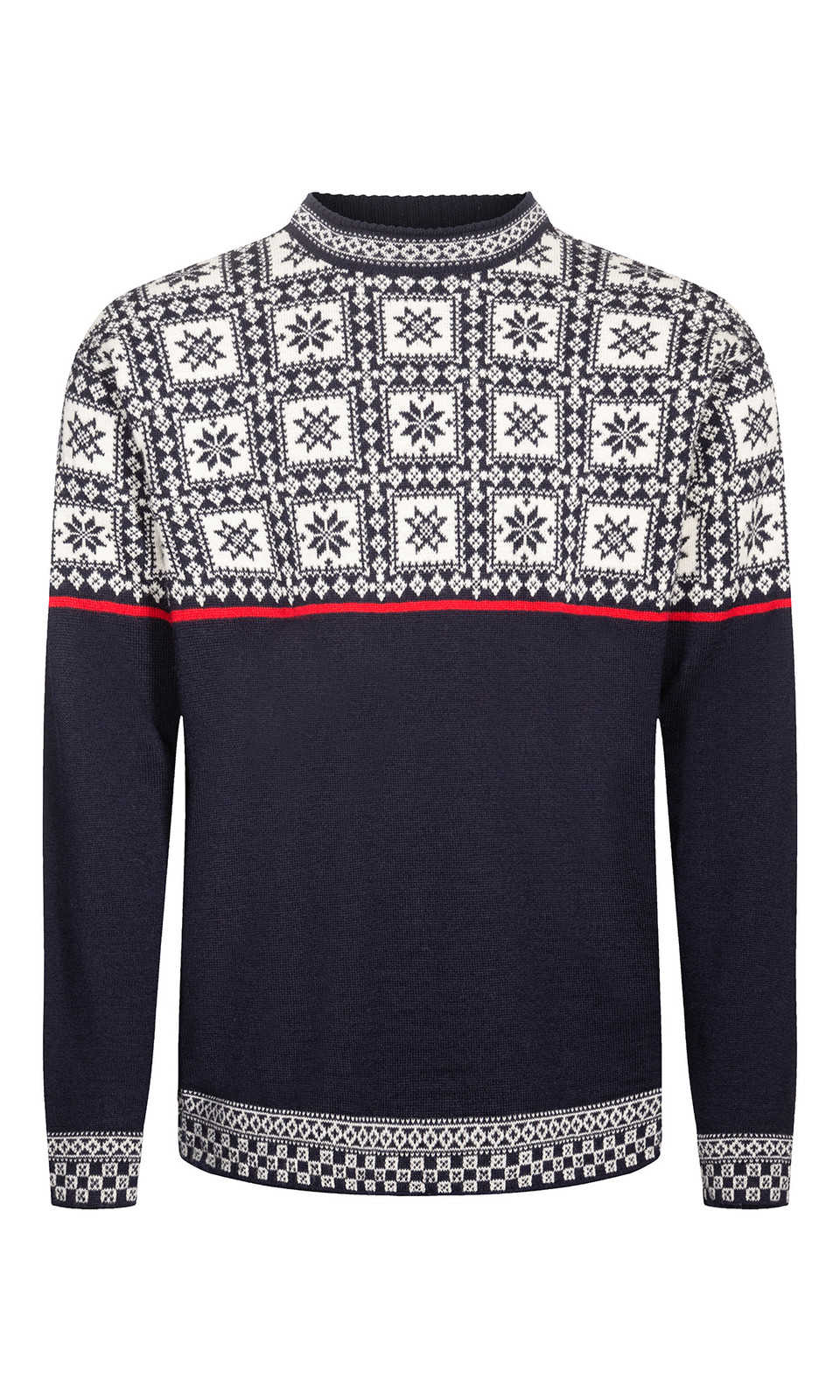Dale of Norway Tyssøy Sweater, Mens- Navy/Off White/Raspberry, 94411-C (94411-F)
