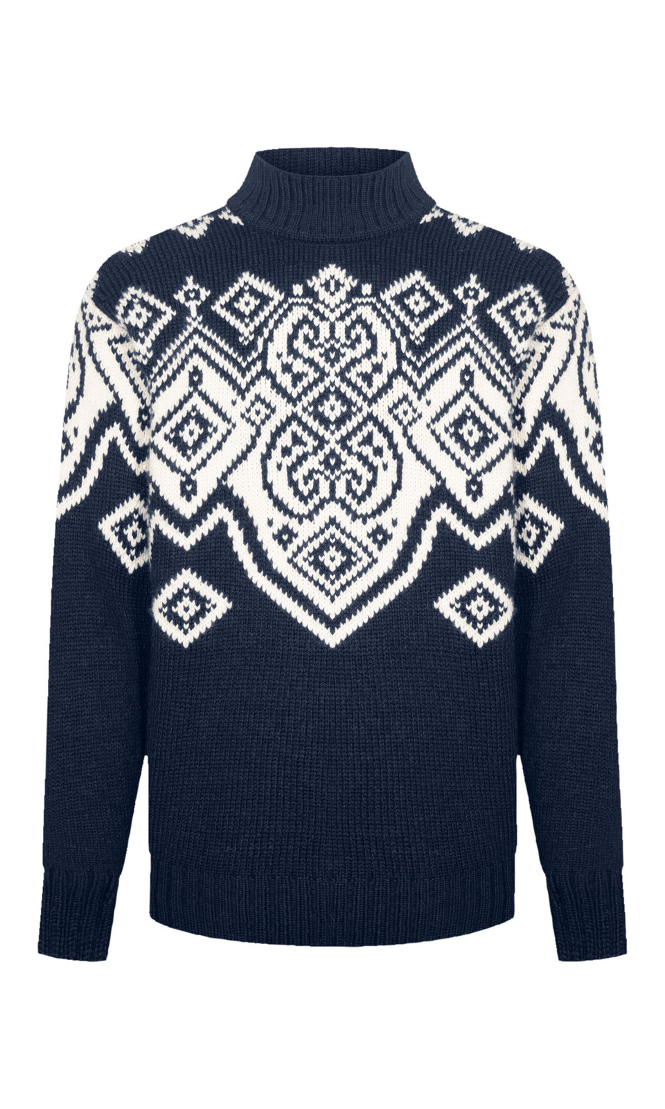 Dale of Norway Falun Sweater, Mens- Navy/Off White, 94451-C