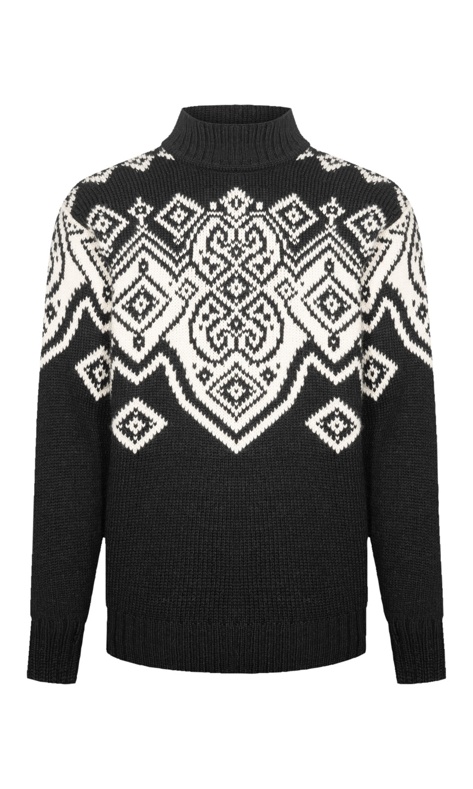 Dale of Norway Falun Sweater, Mens- Black/Off White, 94451-F (94451-F)