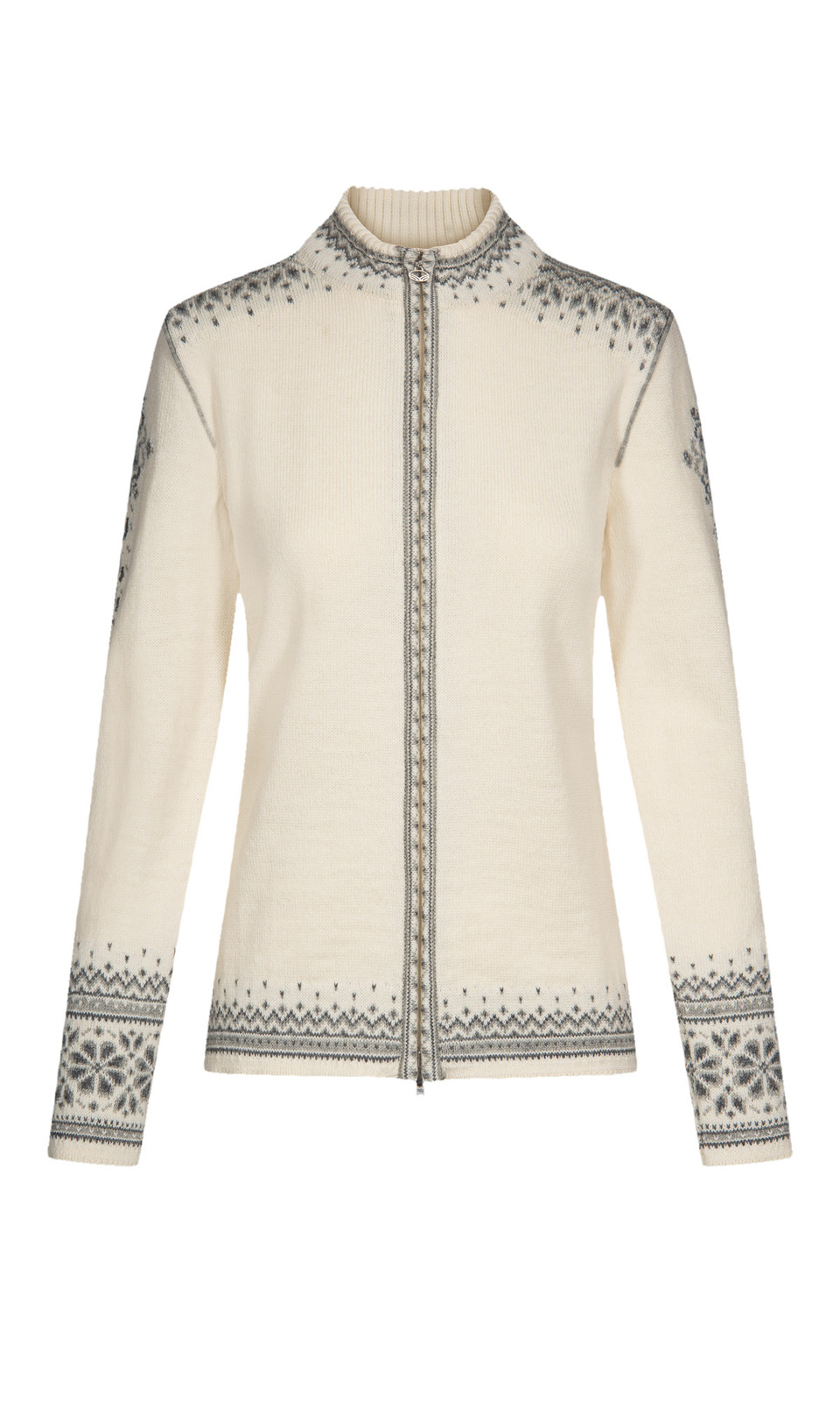 Dale of Norway 140th Anniversary Cardigan, Ladies - Off White/Smoke/Light Charcoal, 83481-A (83481-A)