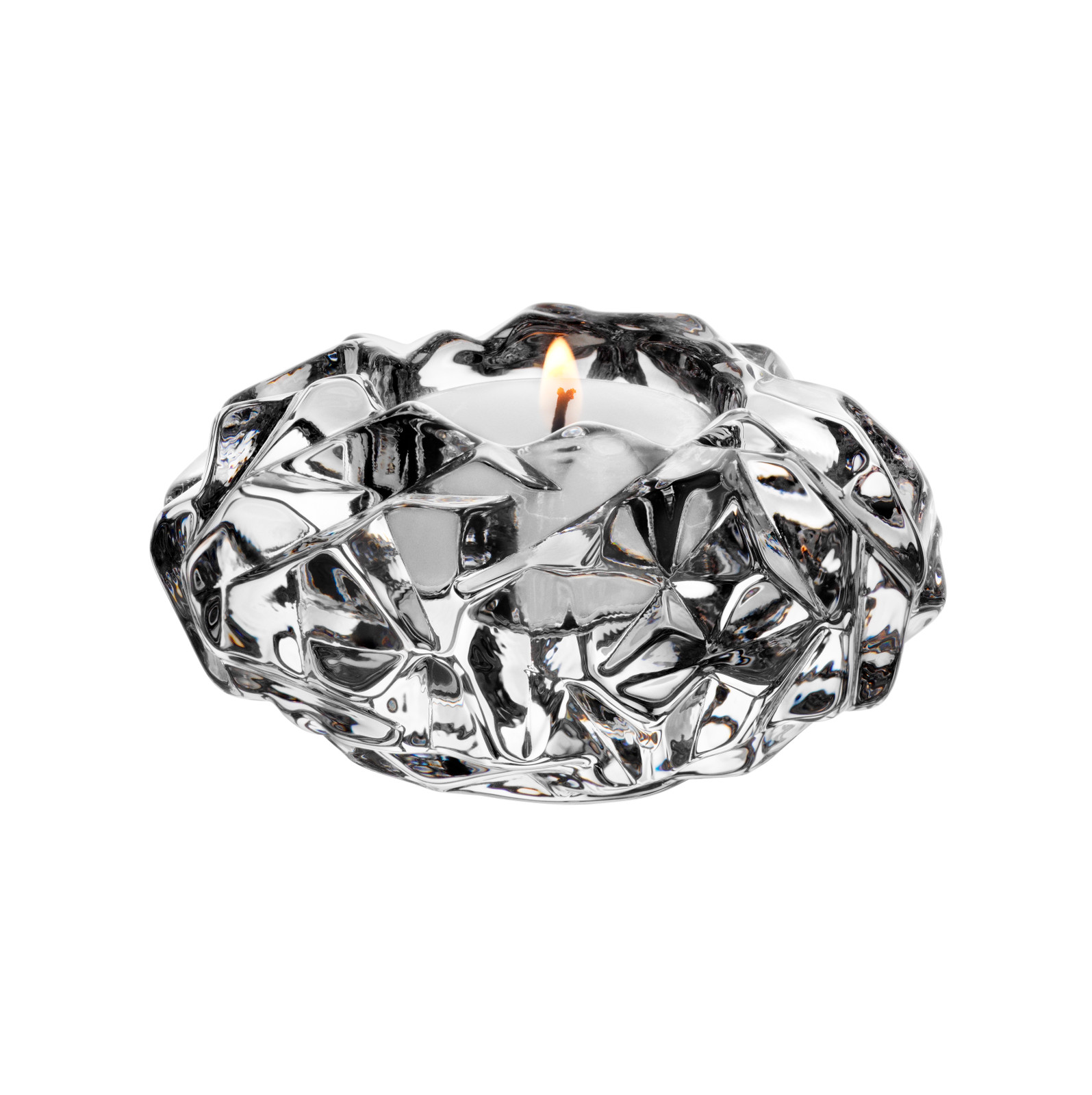 Orrefors Carat Cut Crystal Votive, 6590161
