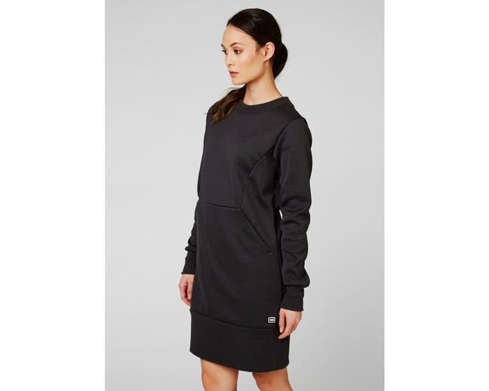 Helly Hansen Hytte Dress, Women's -Ebony, 62932-980 (62932-980) on body front