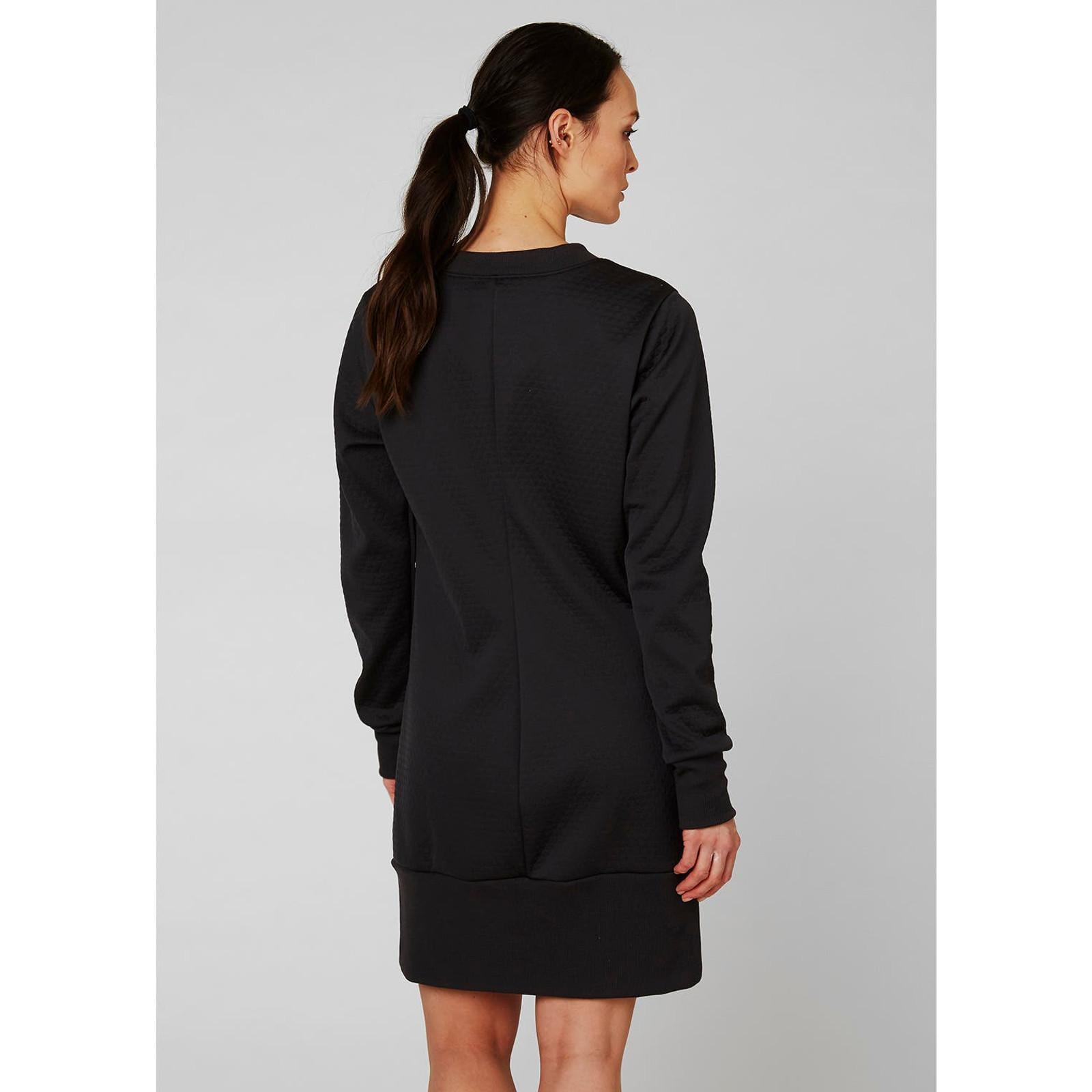 Helly Hansen Hytte Dress, Women's -Ebony, 62932-980 (62932-980) on body back