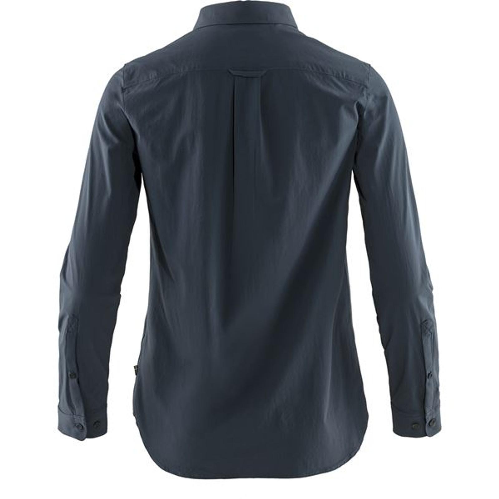 Fjällräven Övik Lite Shirt, Women's, Navy - F89980-560 (F89980-560) back