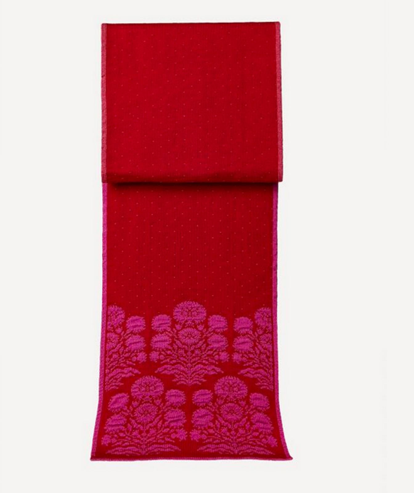 Oleana Alhambra Scarf, 364-R Red (346R)