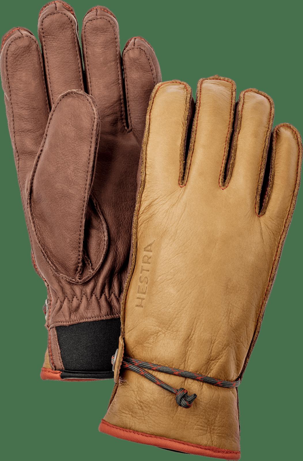 Hestra Wakayama Unisex Gloves, Cork and Brown (37020-710750)