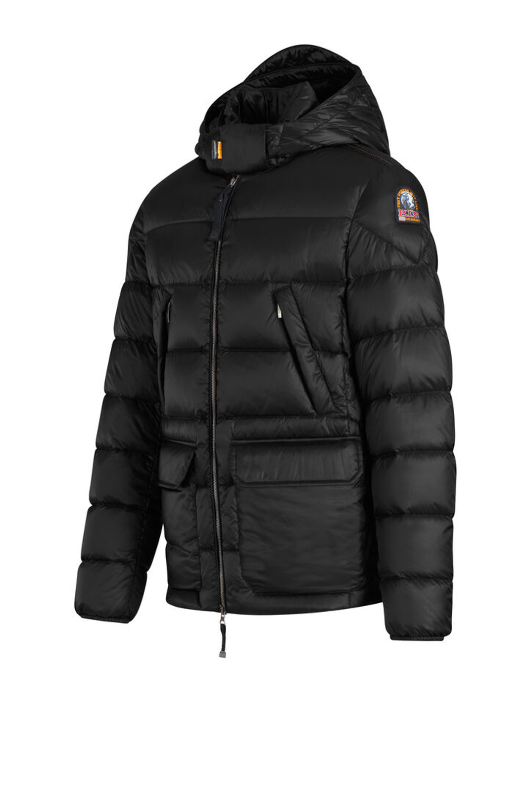 Parajumpers Greg Puffer Jacket, Men's, Pencil (PMJCKSX04-710) side