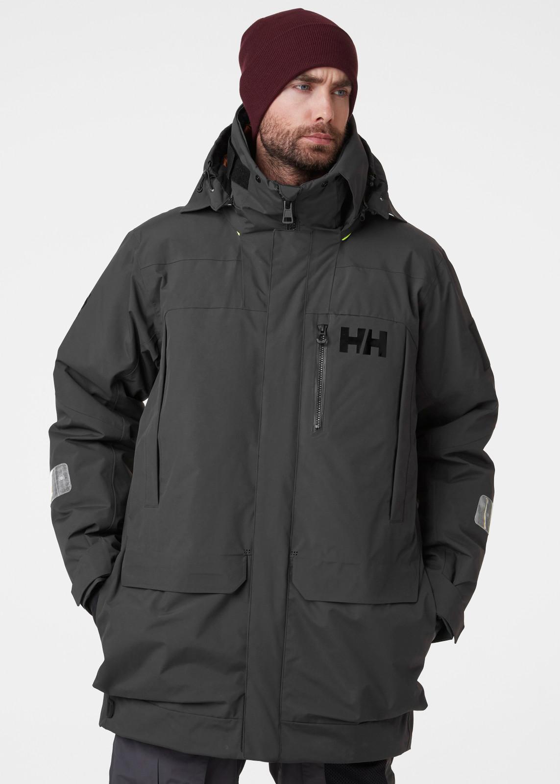 Helly Hansen Arctic Ocean Parka, Mens - Ebony   34093-981 (34093-981) 2
