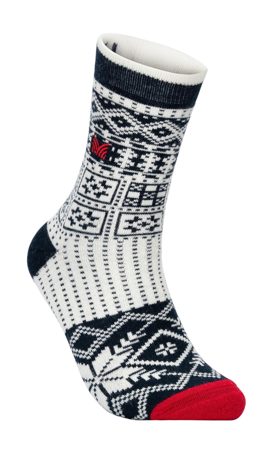 Dale of Norway OL History Sock, Navy/Off White/Raspberry, 50141C